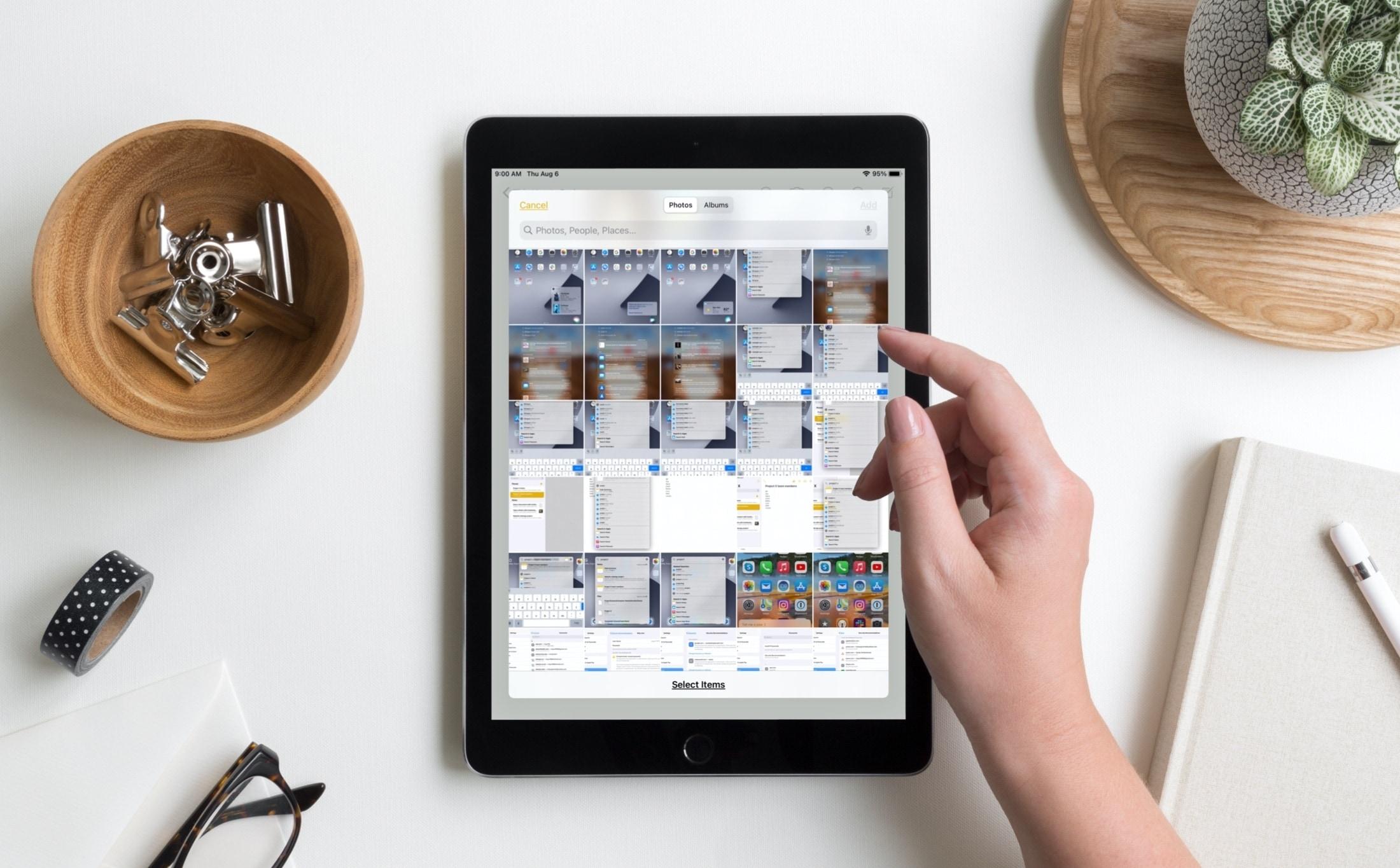 Enhanced Image Picker on iPad