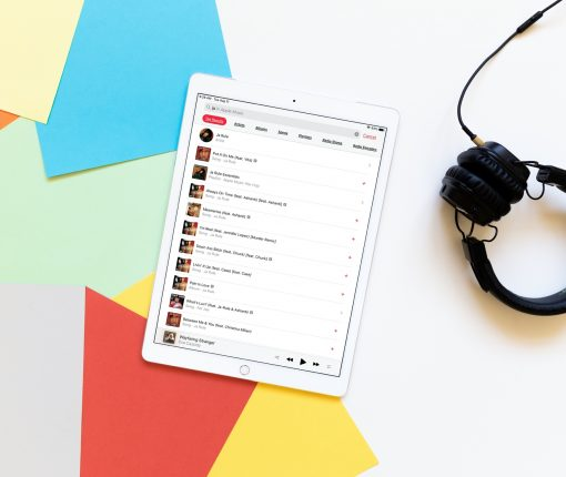 Enhanced Search Apple Music iPad