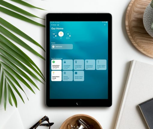 Home App Visual Status iPad