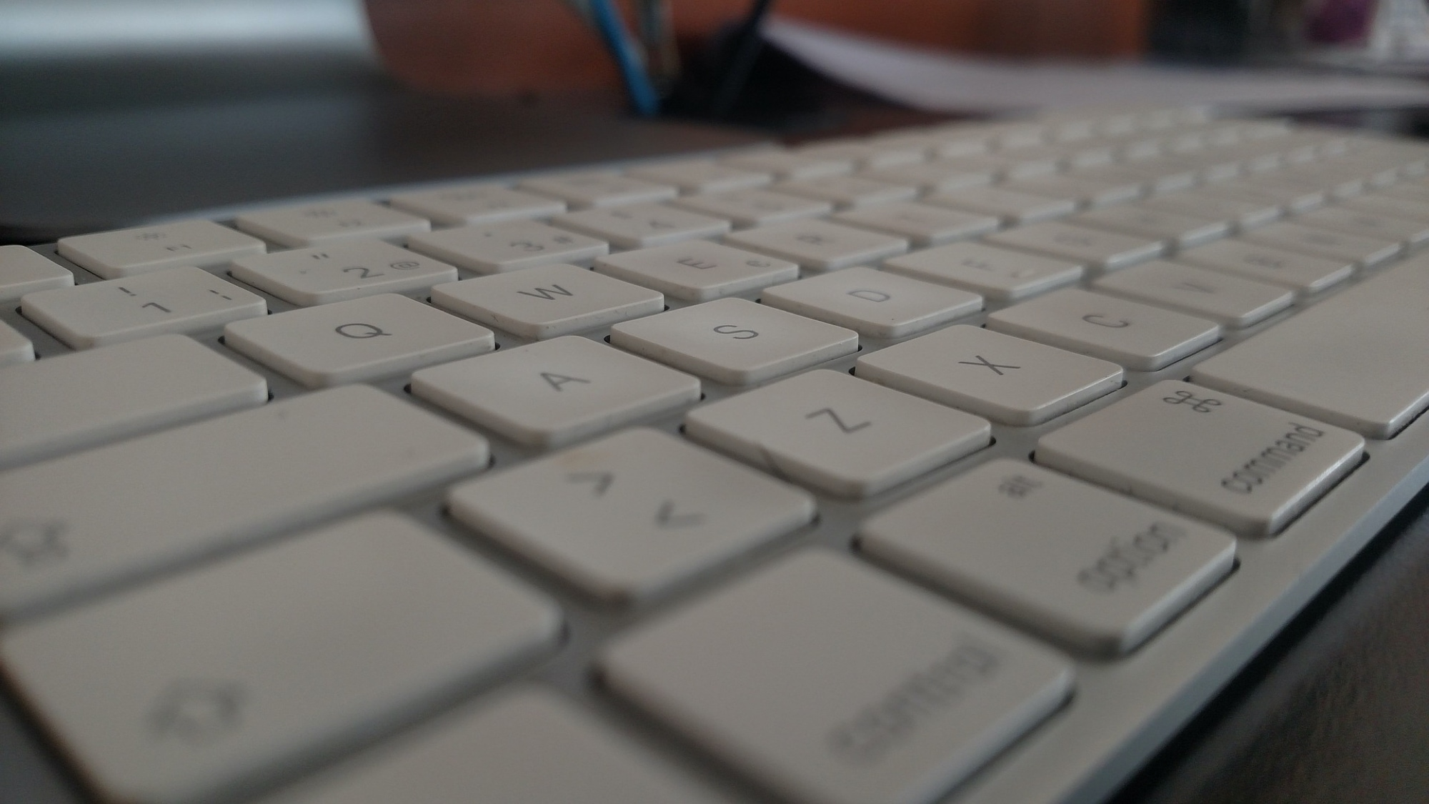 Mac wireless keyboard - Keynote keyboard shortcuts