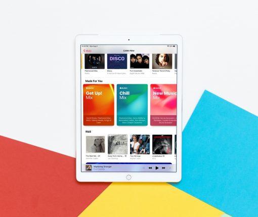 Playlist Motion Artwork Music iPad