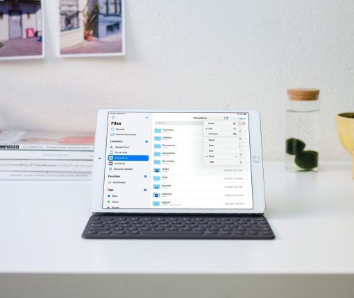Redesigned Files on iPadOS 14