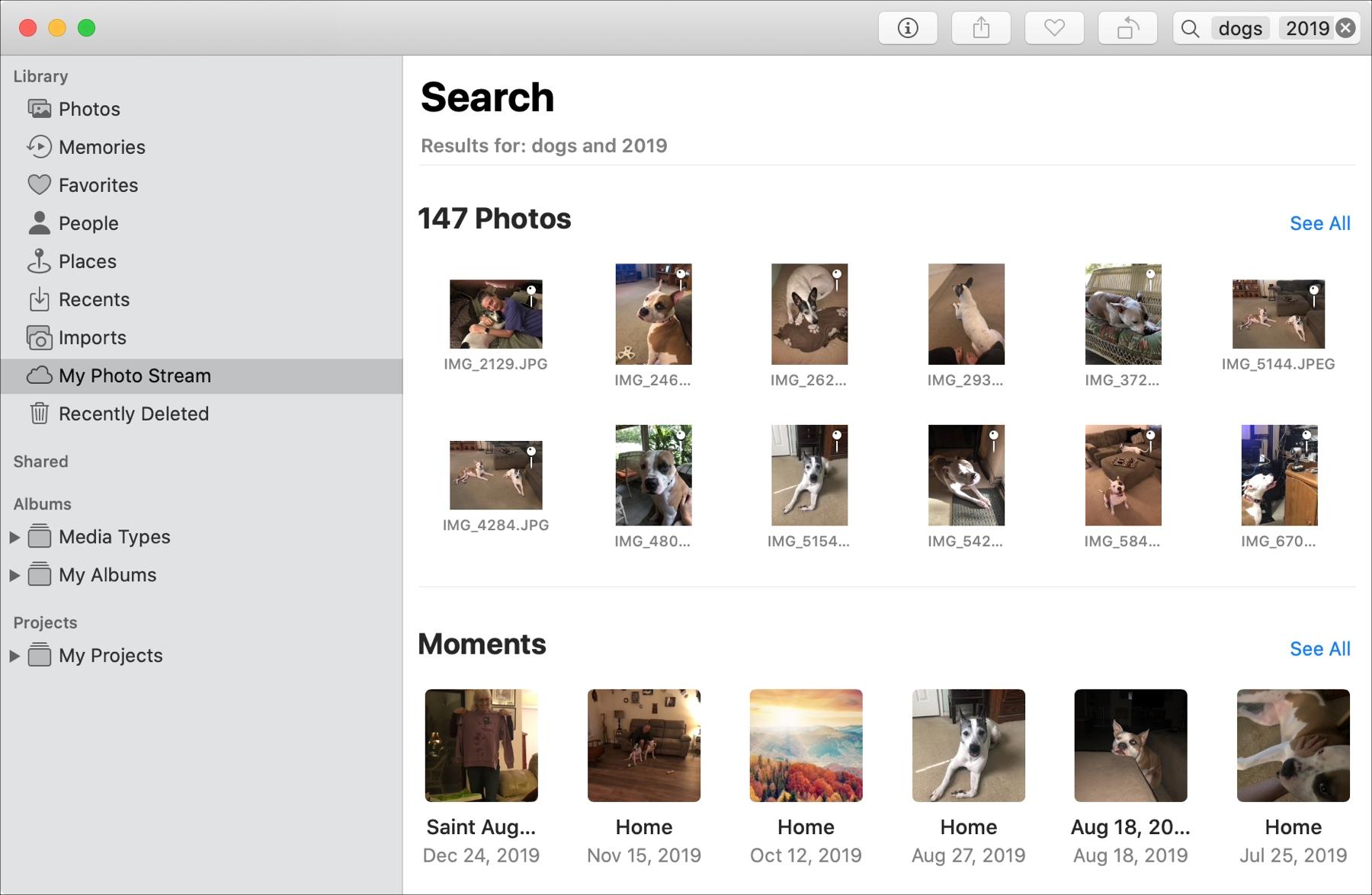 Search Photos Mac Keywords