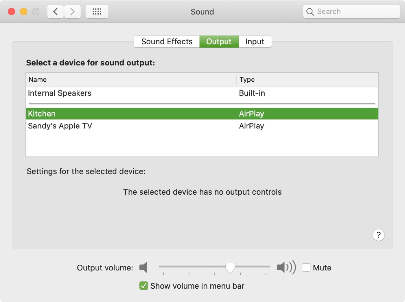 Siri Volume Speaker AirPlay Mac