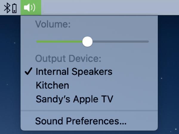 Siri Volume Speaker Mac