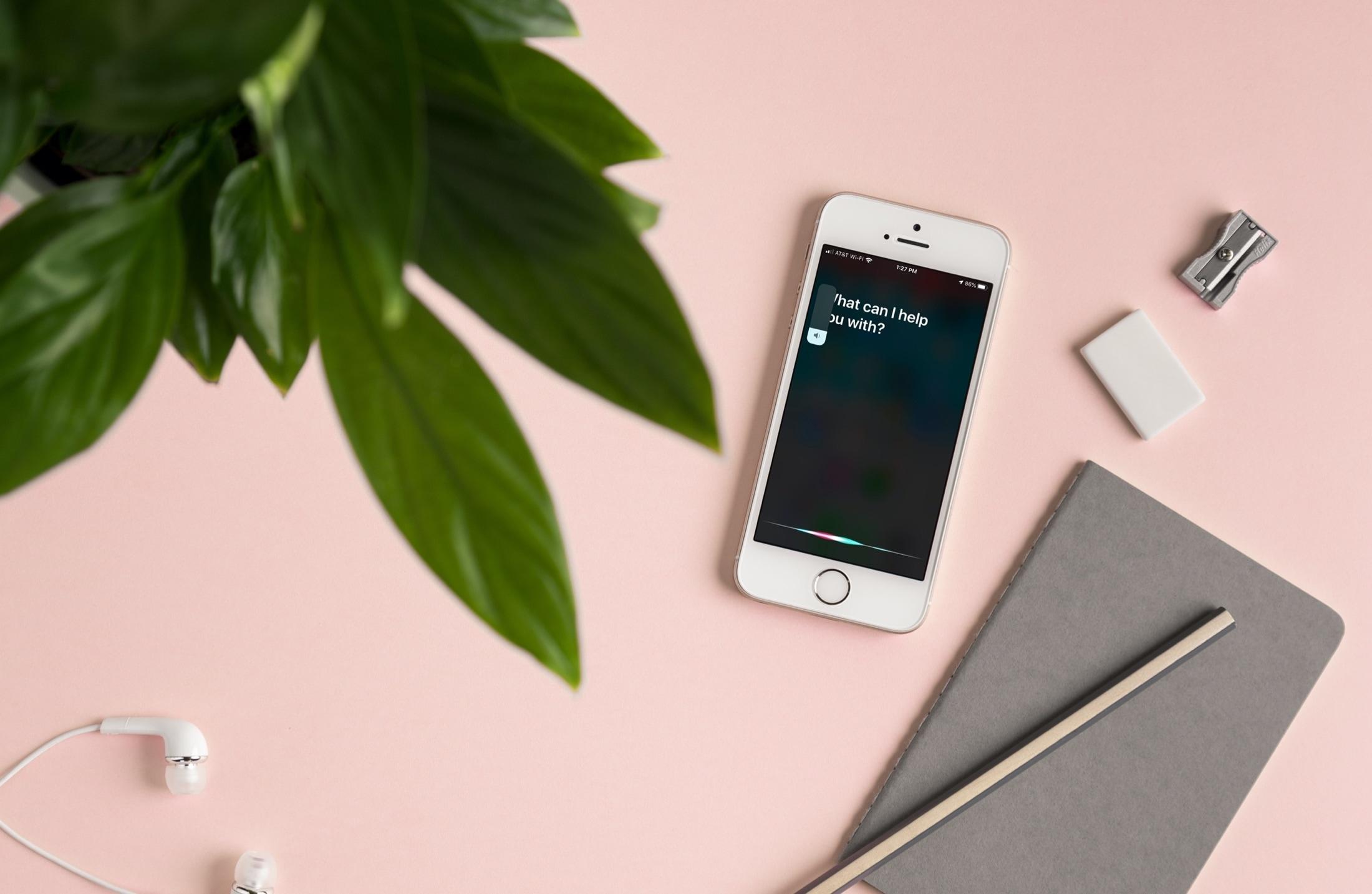 Siri Volume Speaker on iPhone