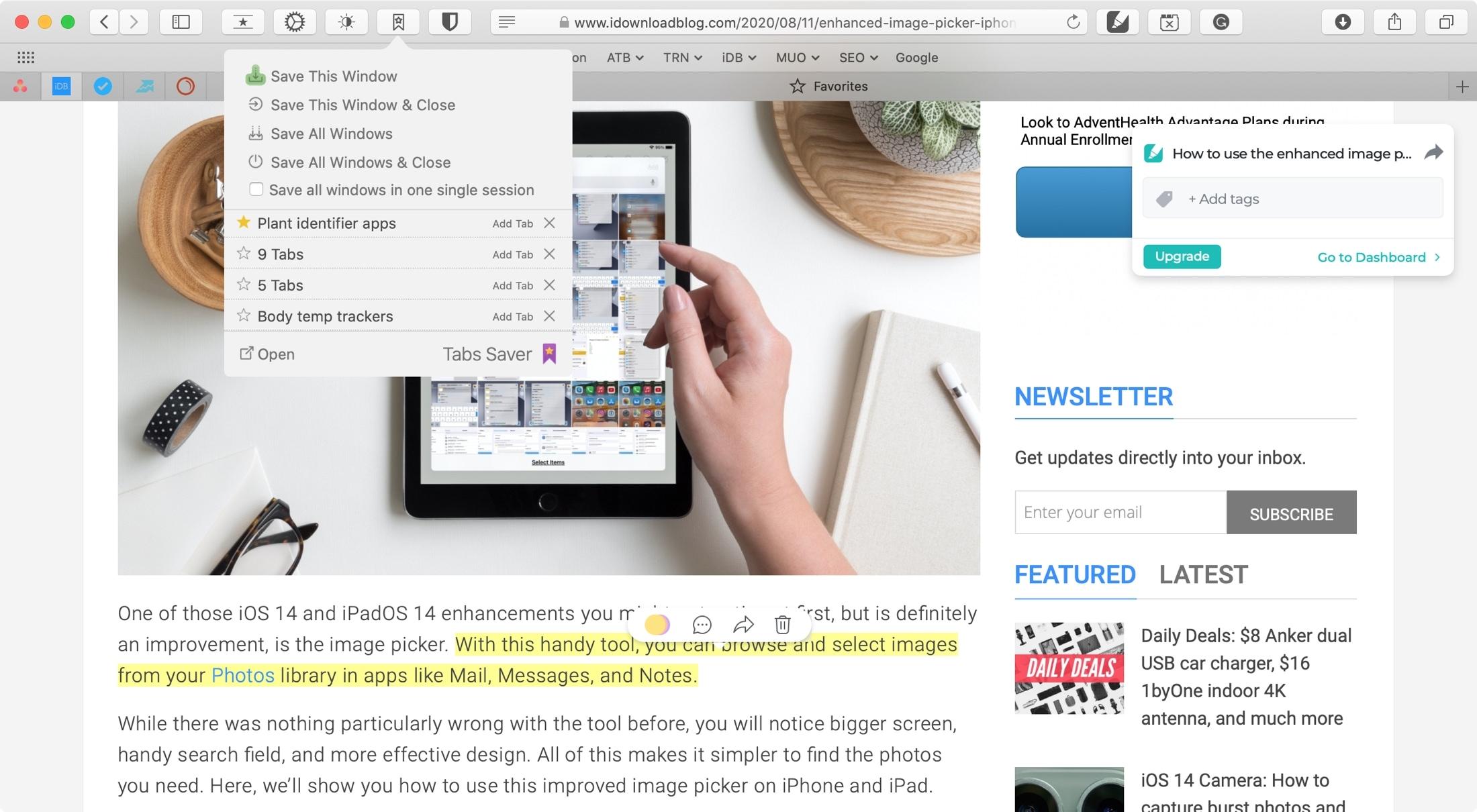 Useful extensions for Safari Mac