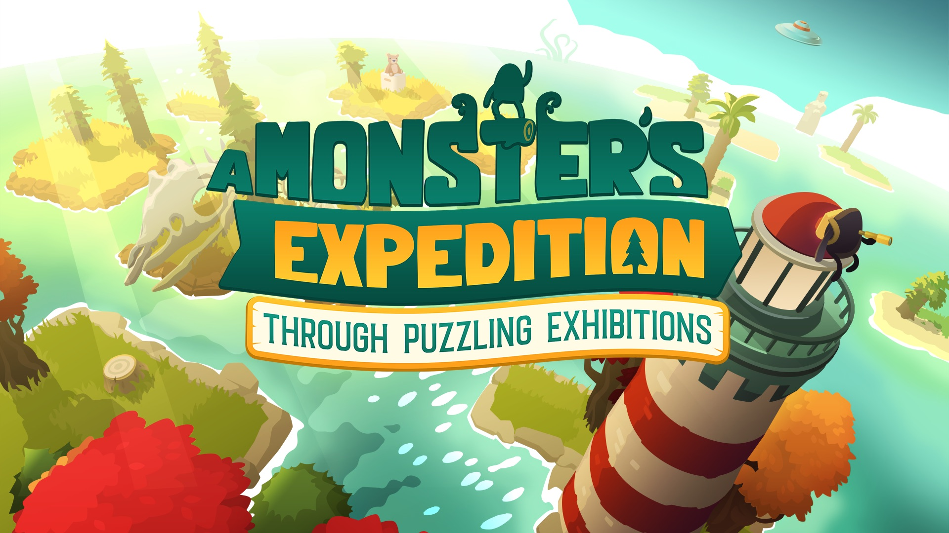 "Relaxing open-world puzzle adventure ""A Monster's Expedition"" coming to Apple Arcade"