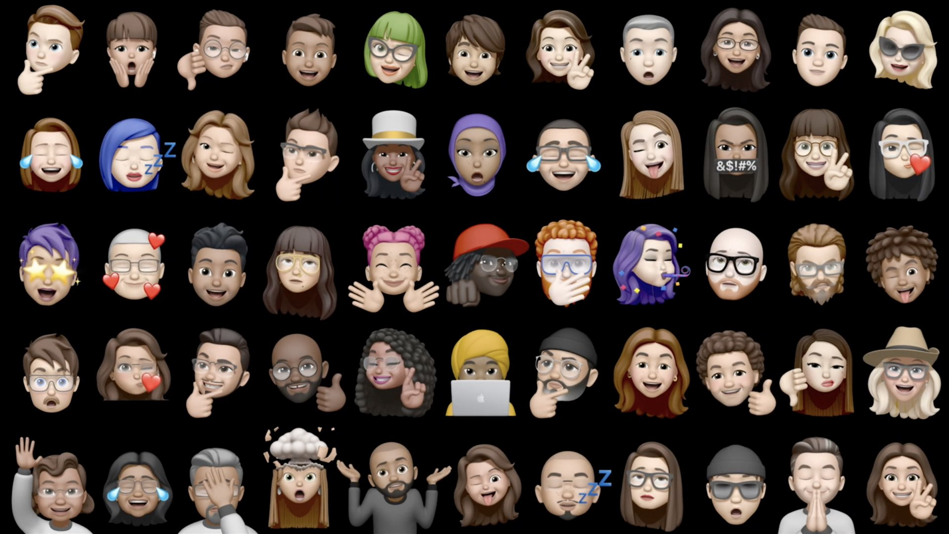 iOS 14 Messages - new Memoji stickers