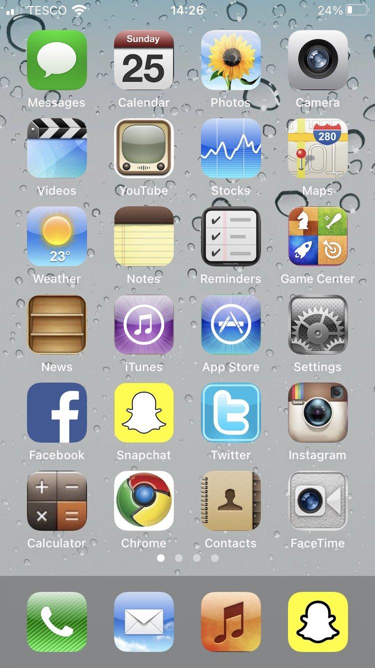 22Ginn iOS 14 Home Screen