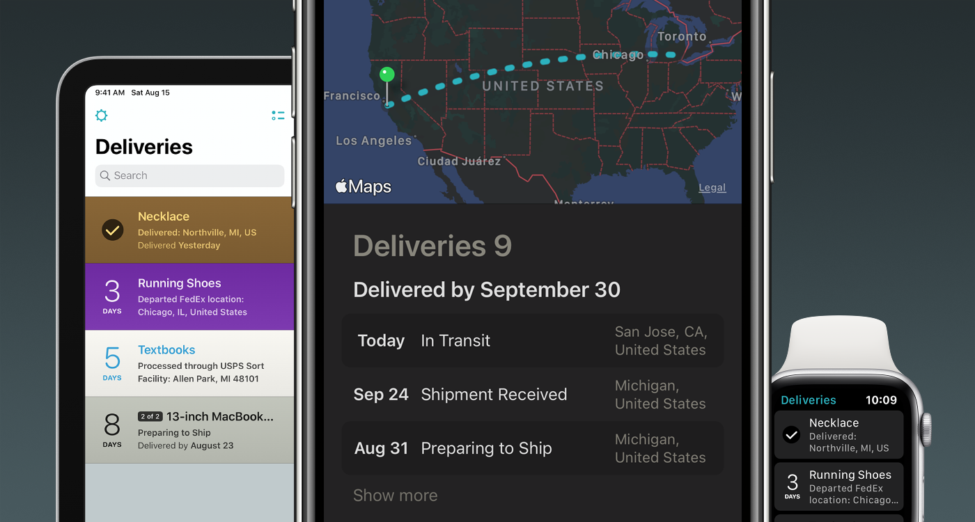Deliveries 9.0 provides a fresh new look, subscriptions, and a bevy of new features