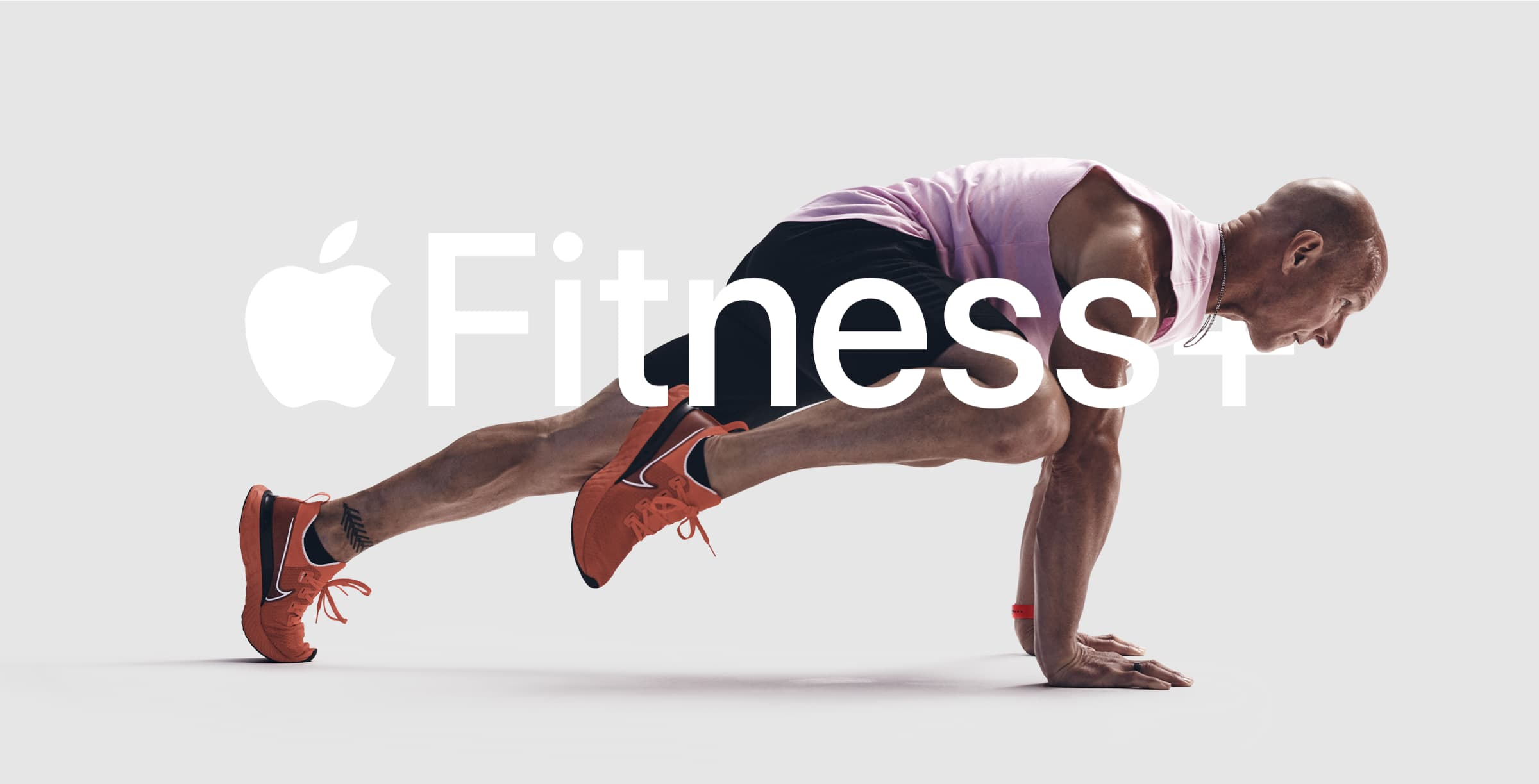 A graphic promoting Apple Fitness+