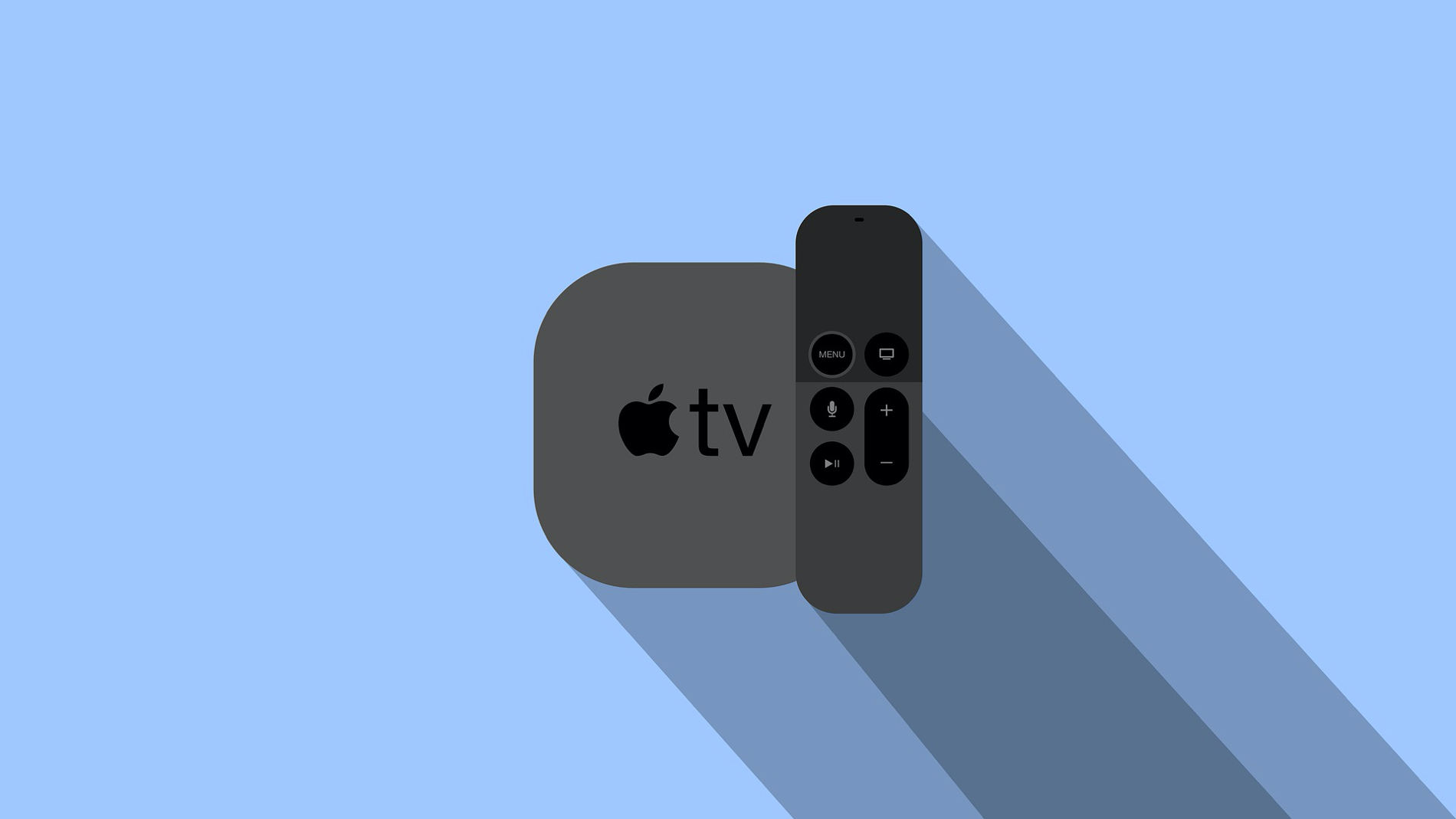 Apple TV and Siri Remote from Pixabay
