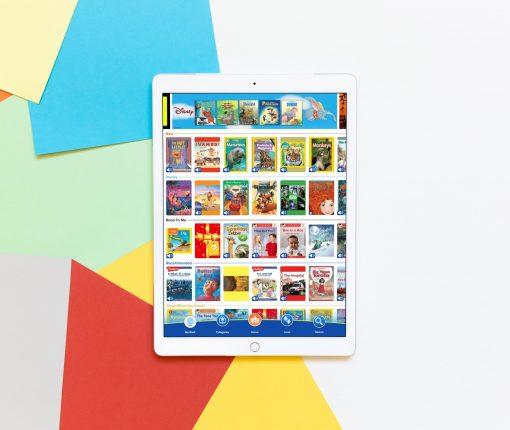 Apps for Kids Books iPad iPhone - ReadingIQ