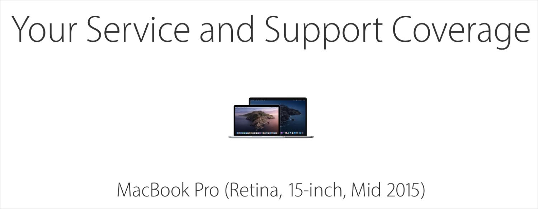 Check Coverage MacBook Pro Age