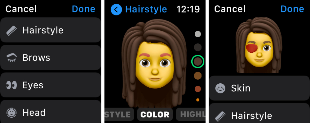 Create a New Memoji on Apple Watch