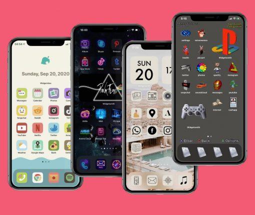 Custom iPhone home screens icons