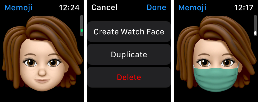 Duplicate a Memoji on Apple Watch