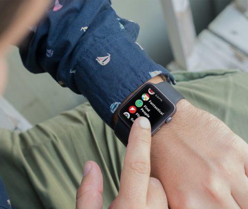 Find People App on Apple Watch List