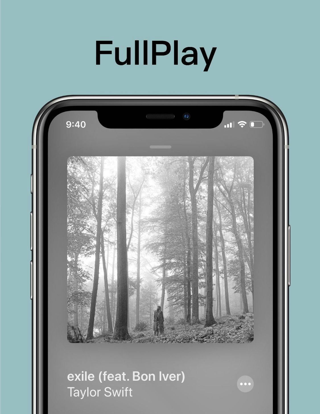 FullPlay gives jailbreakers an iOS 14-style full-screen Music app experience
