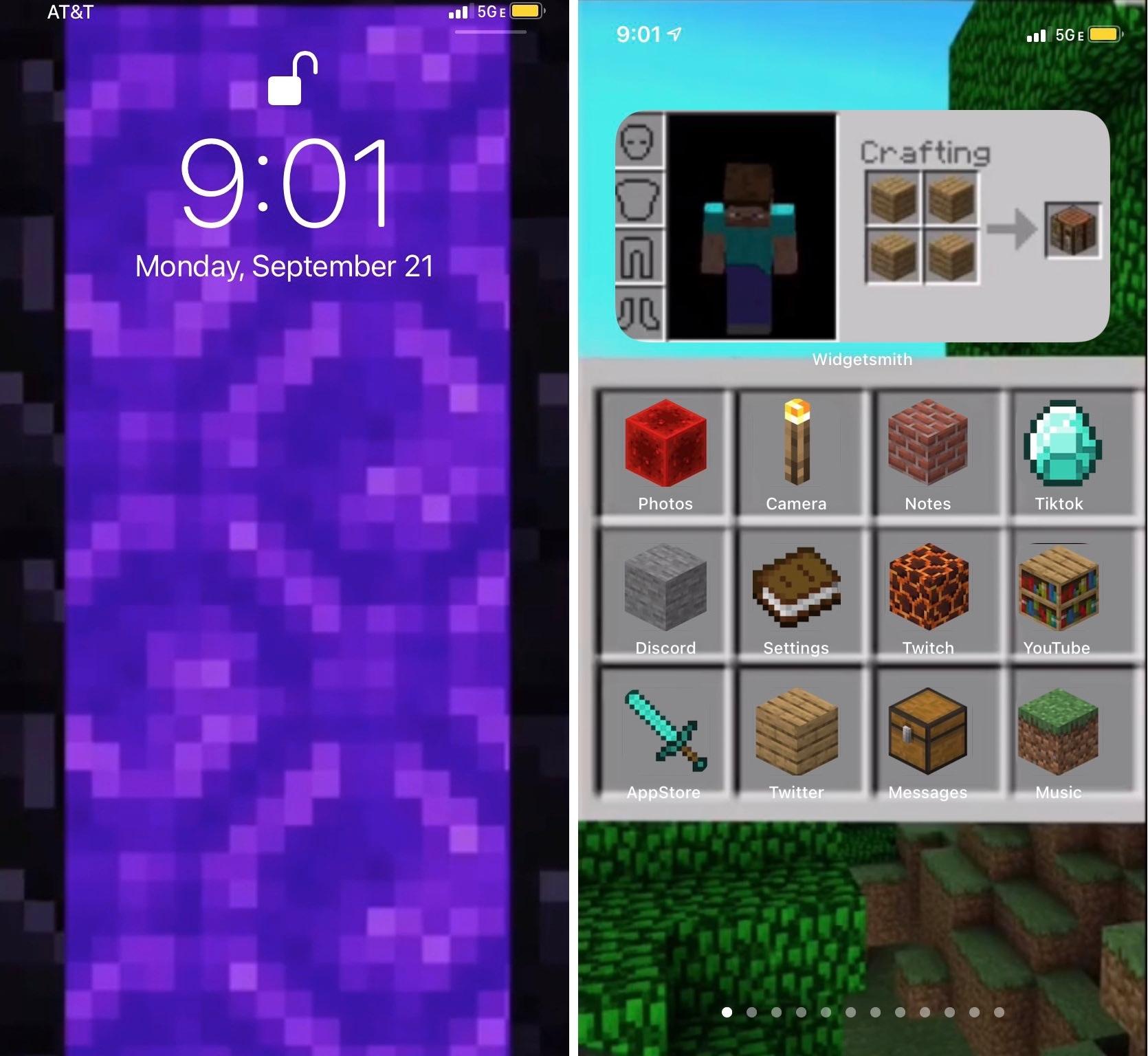 JohnDav52533934 iOS 14 Home Screen