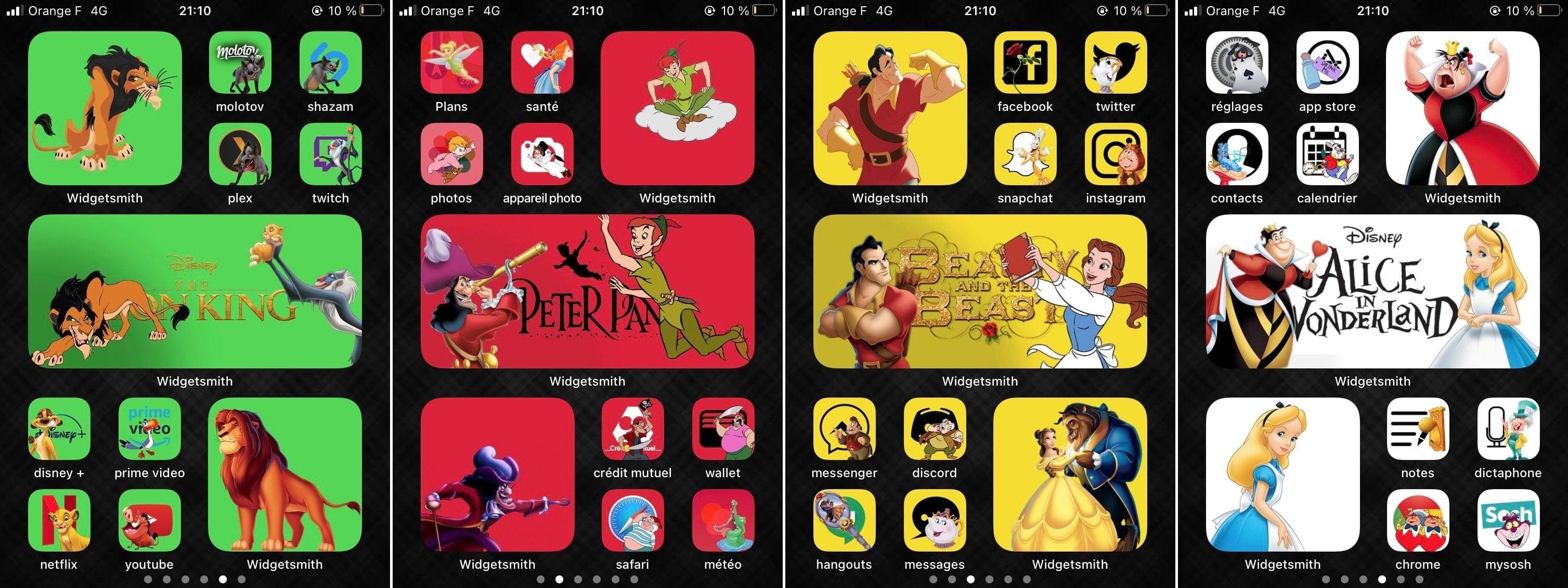 JulianWaha iOS 14 Home Screen