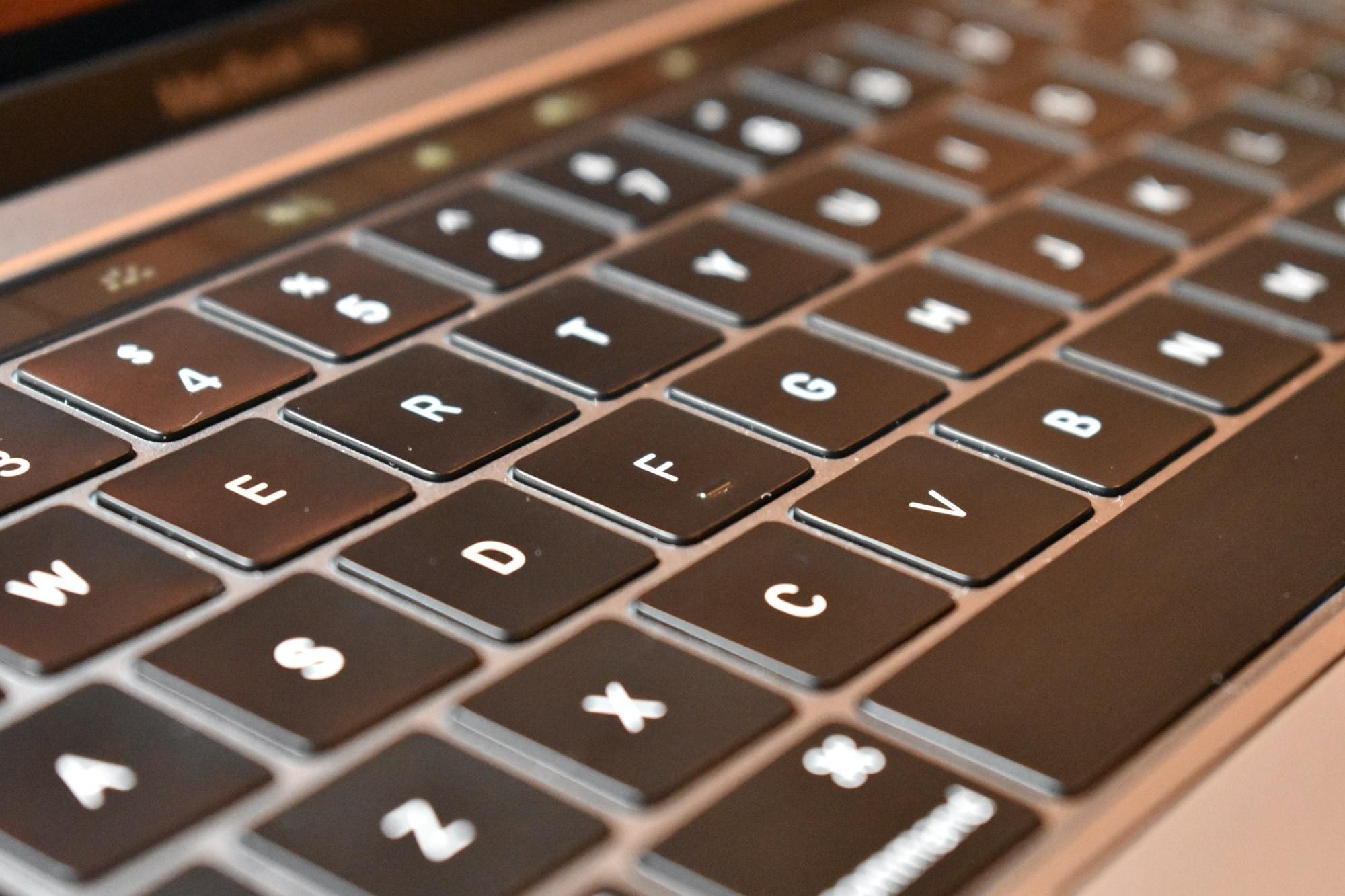 MacBook keyboard-PowerPoint keyboard shortcuts