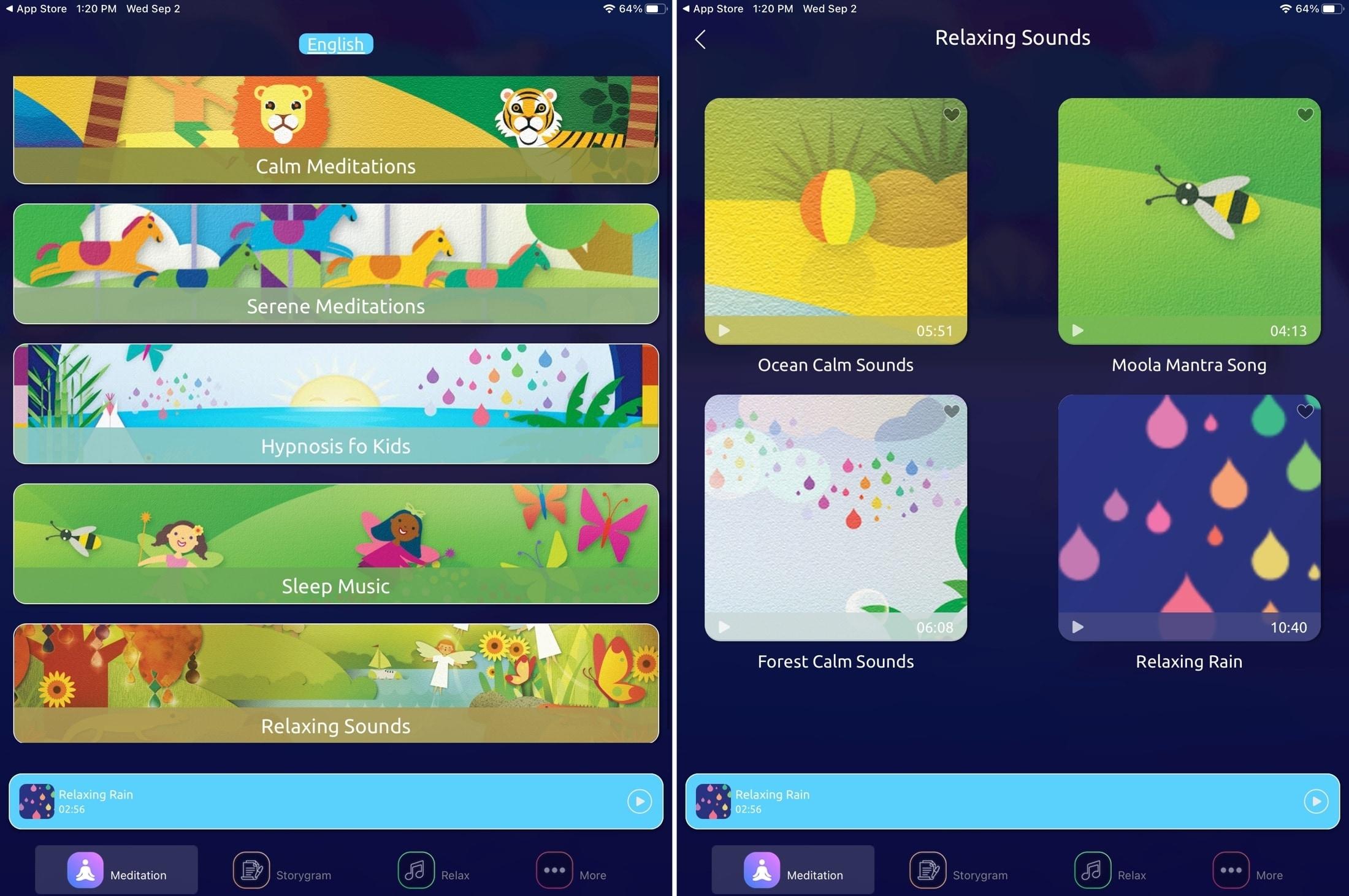 Meditation for Kids iPad