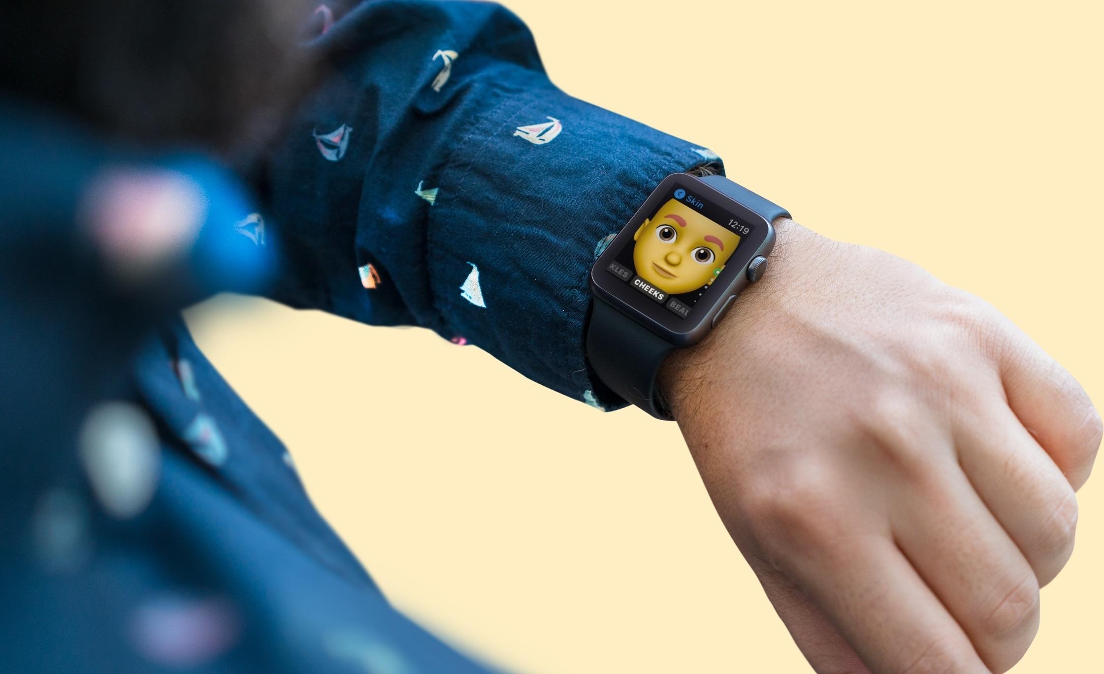 Memoji App on Apple Watch
