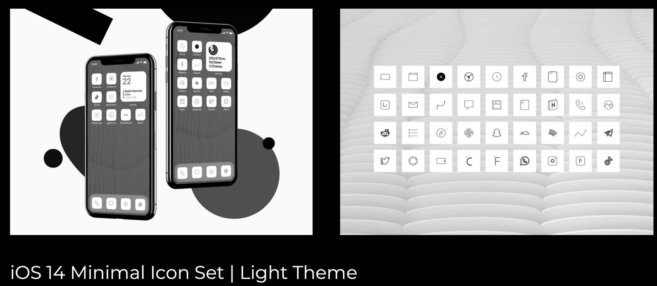 Minimalistic Light and Dark Themes by Amirmio