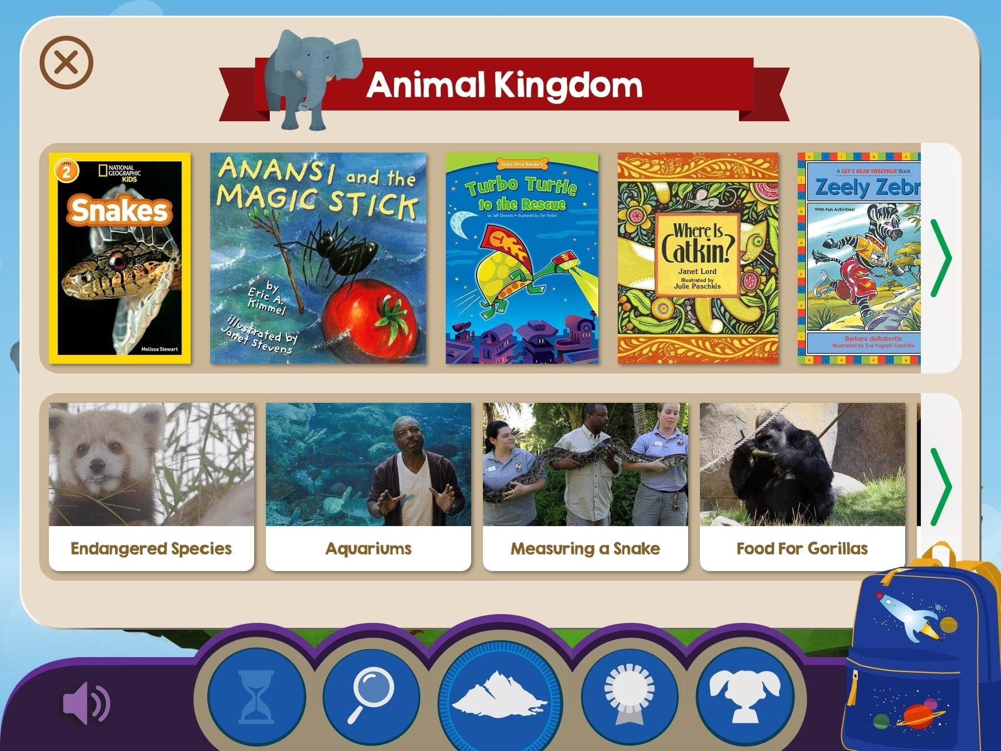 Skybrary Kids Books App iPad
