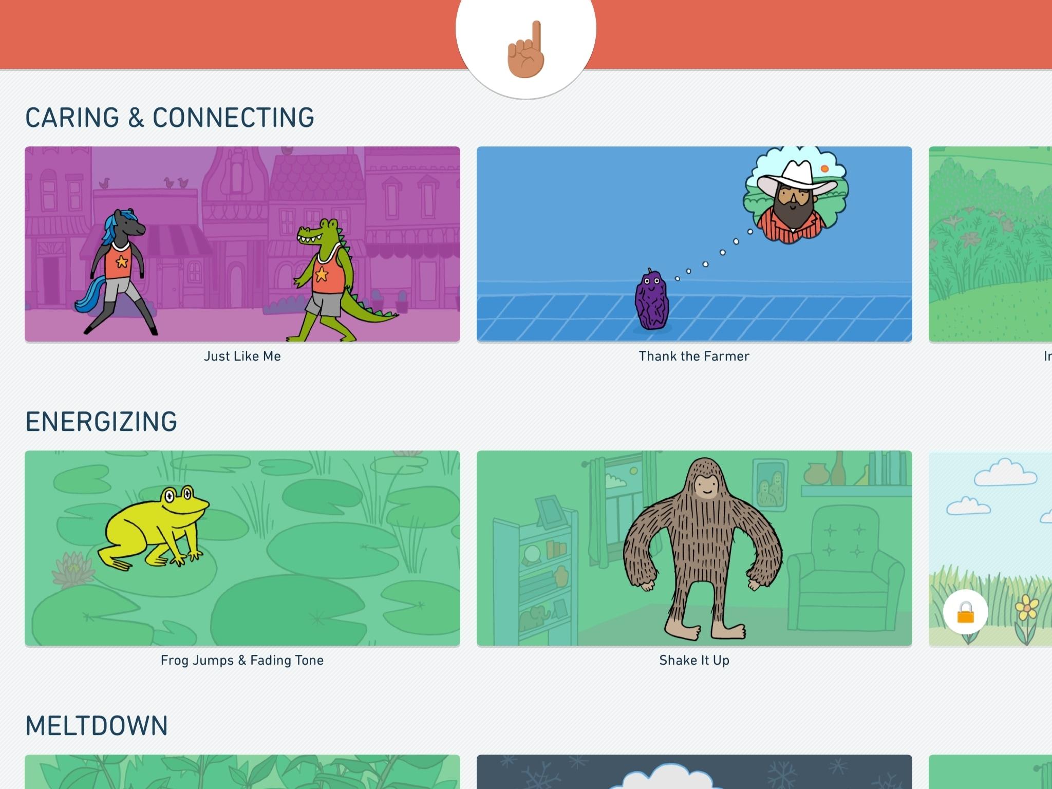 Stop, Breathe Think Kids iPad