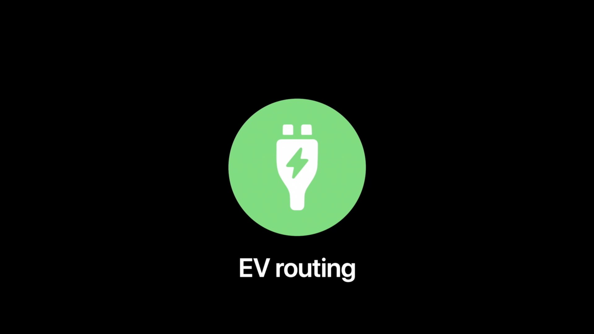 Apple Maps electric vehicle routing - hero image