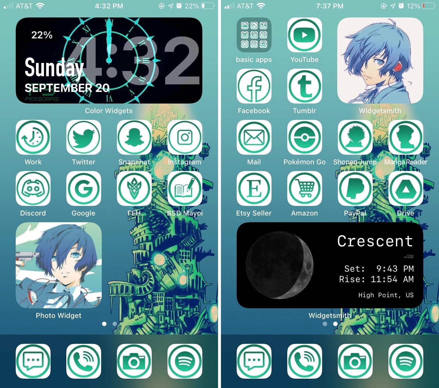 detectiveprince iOS 14 Home Screen