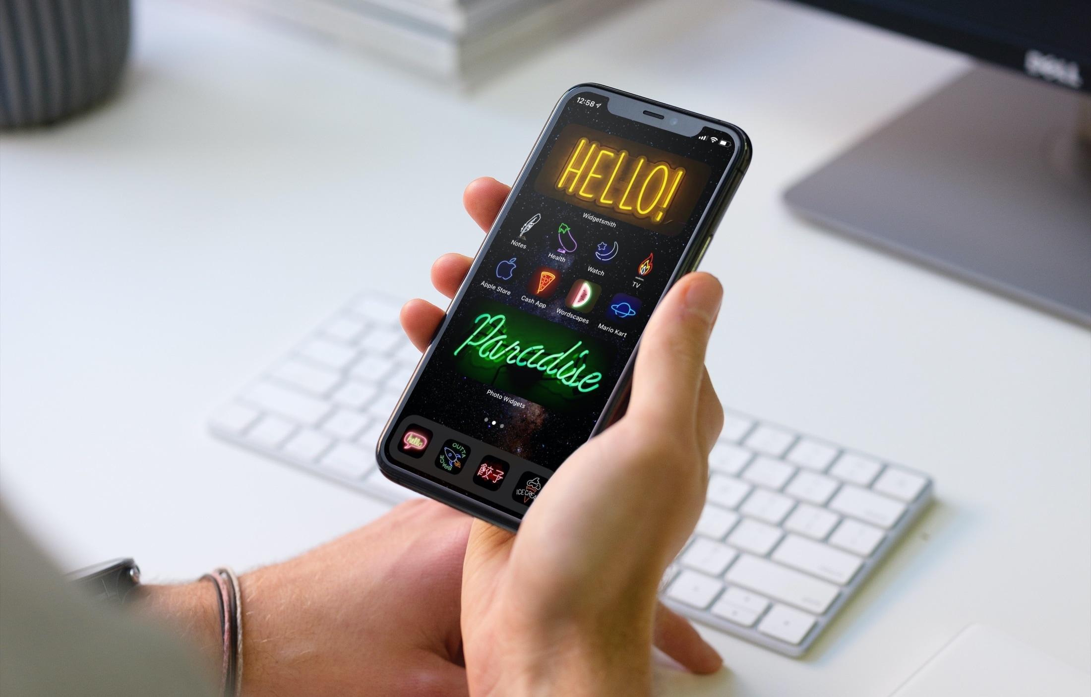 iPhone Home Screen Customization Tips - BlueKiyoshi Screen