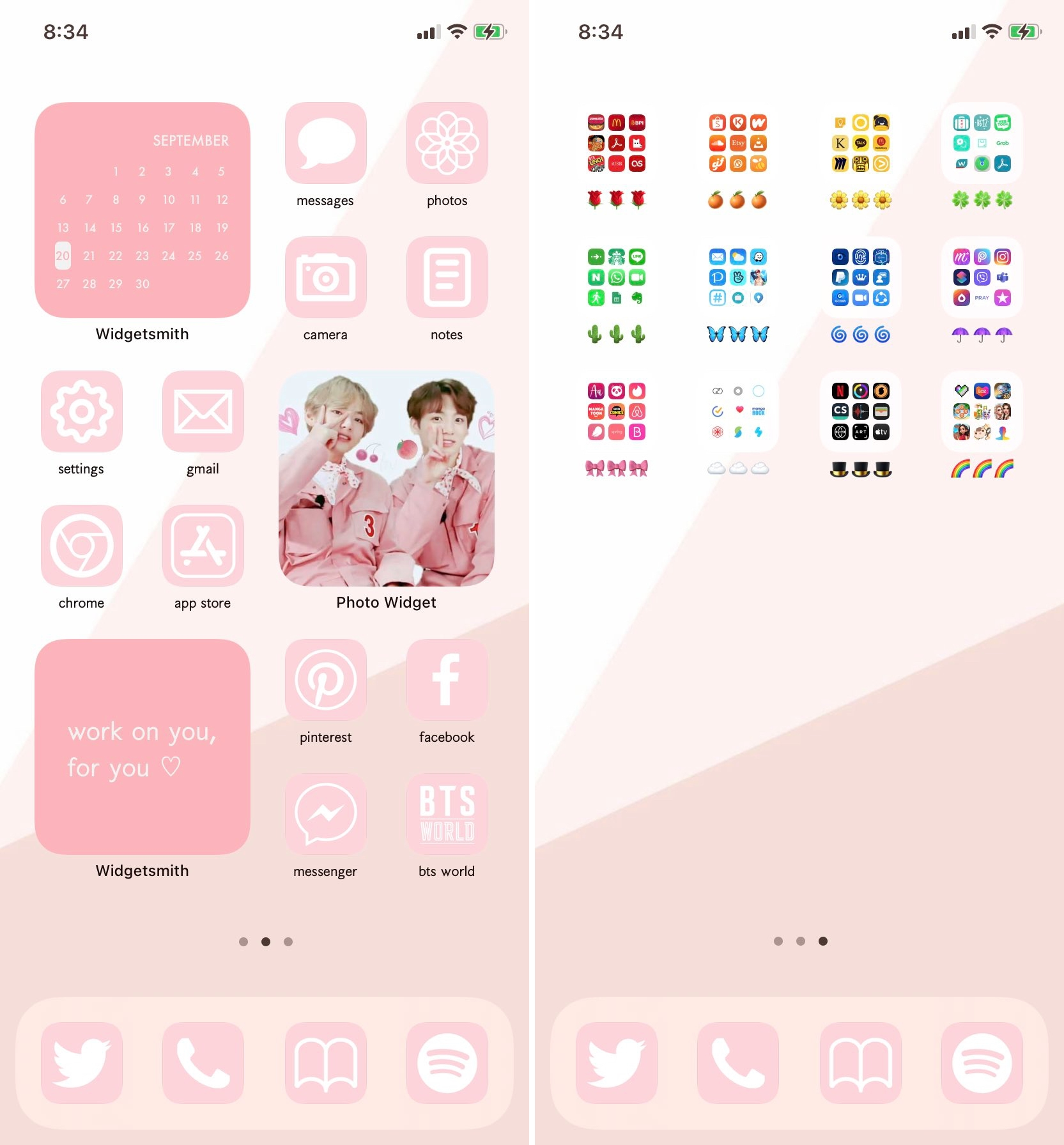 kvwithluv iOS 14 Home Screen