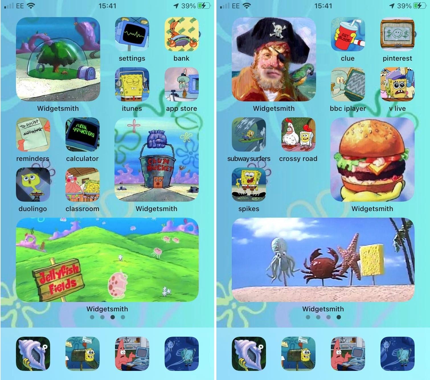luigikartds iOS 14 Home Screen