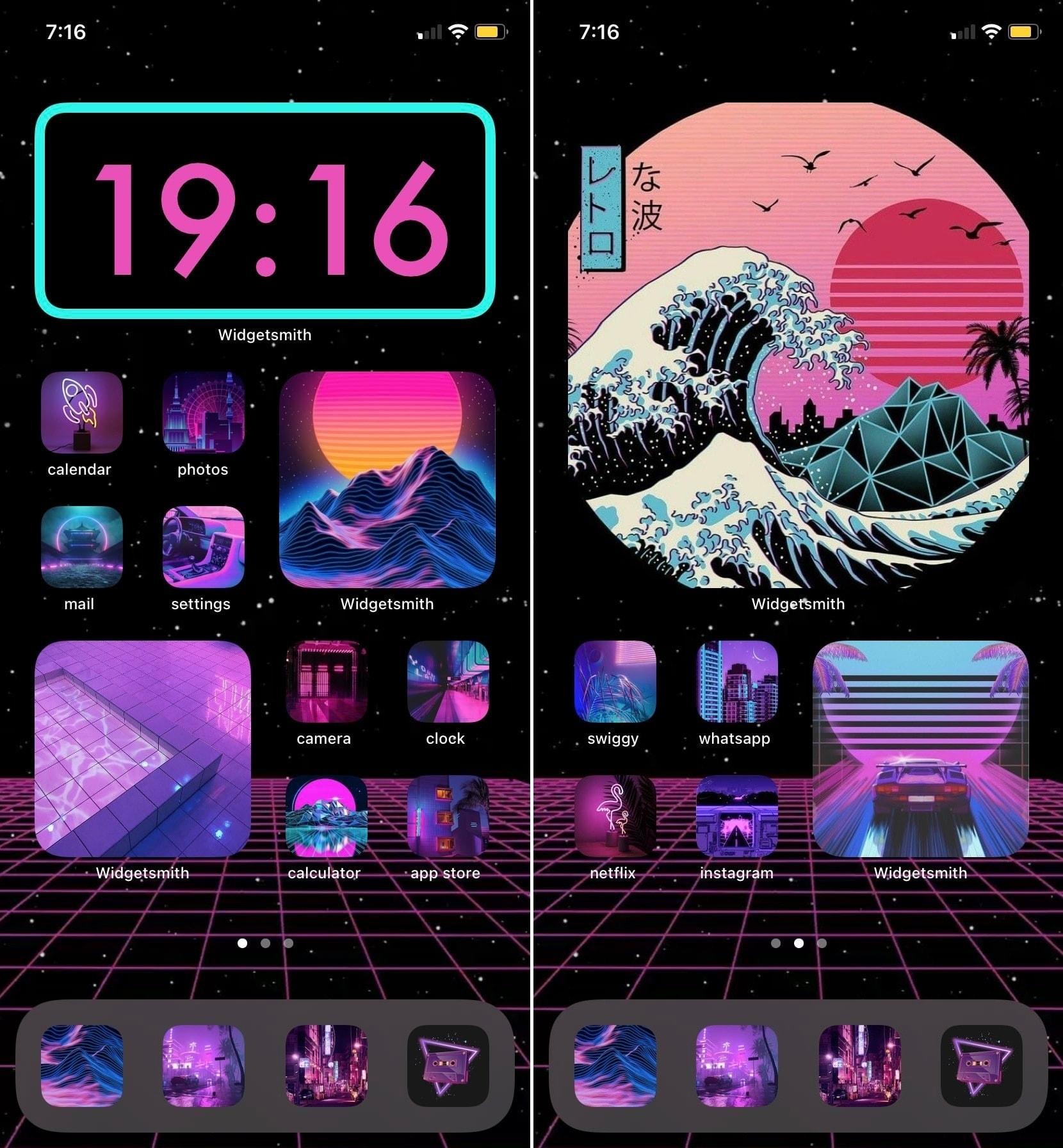 teju2909 iOS 14 Home Screen