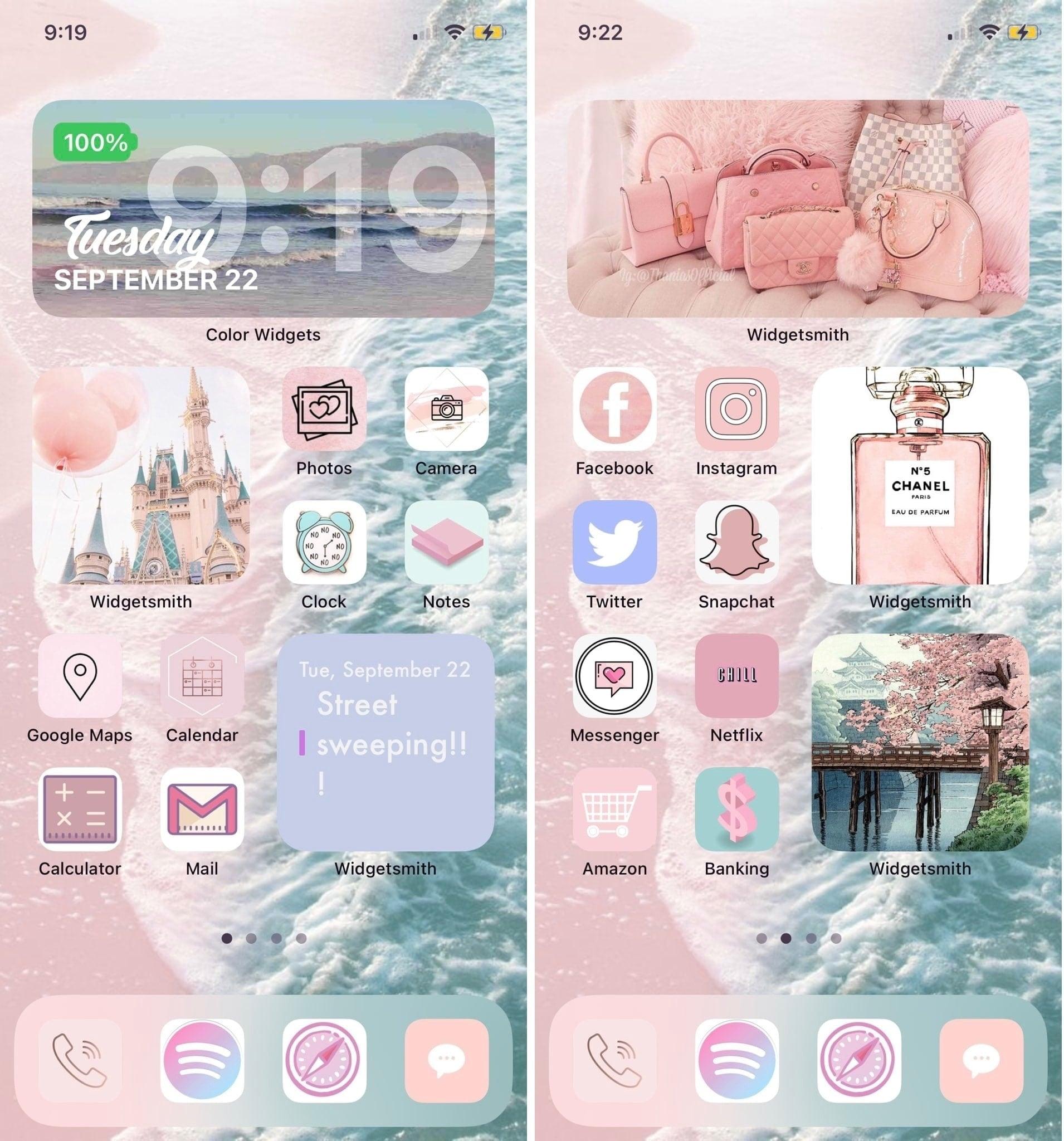 ver0niqa_ iOS 14 Home Screen