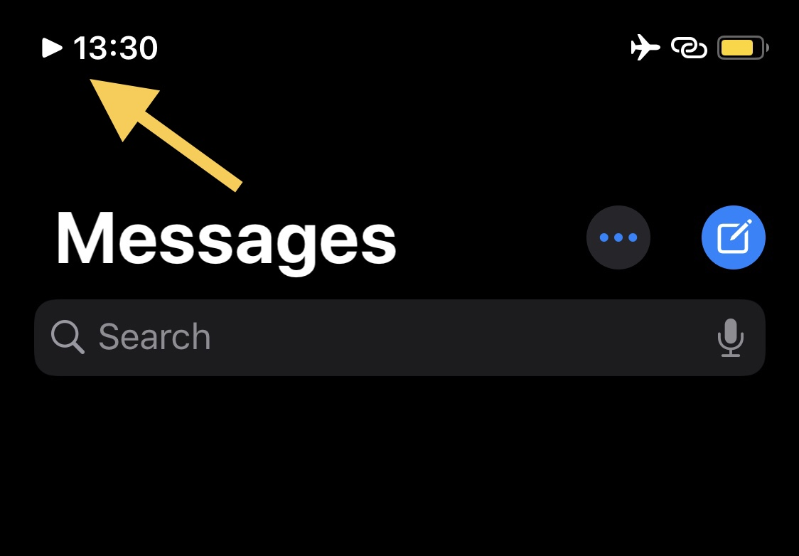 This tweak adds an icon in the Status Bar whenever music is playing