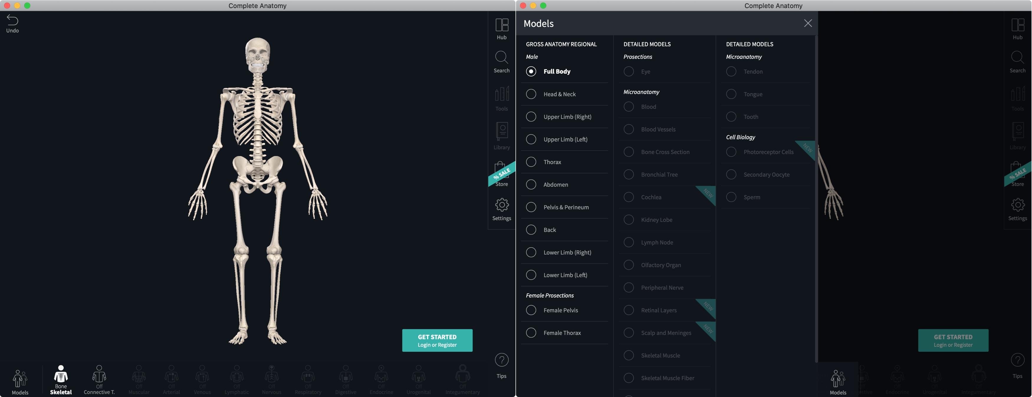 Complete Anatomy 21 Mac App