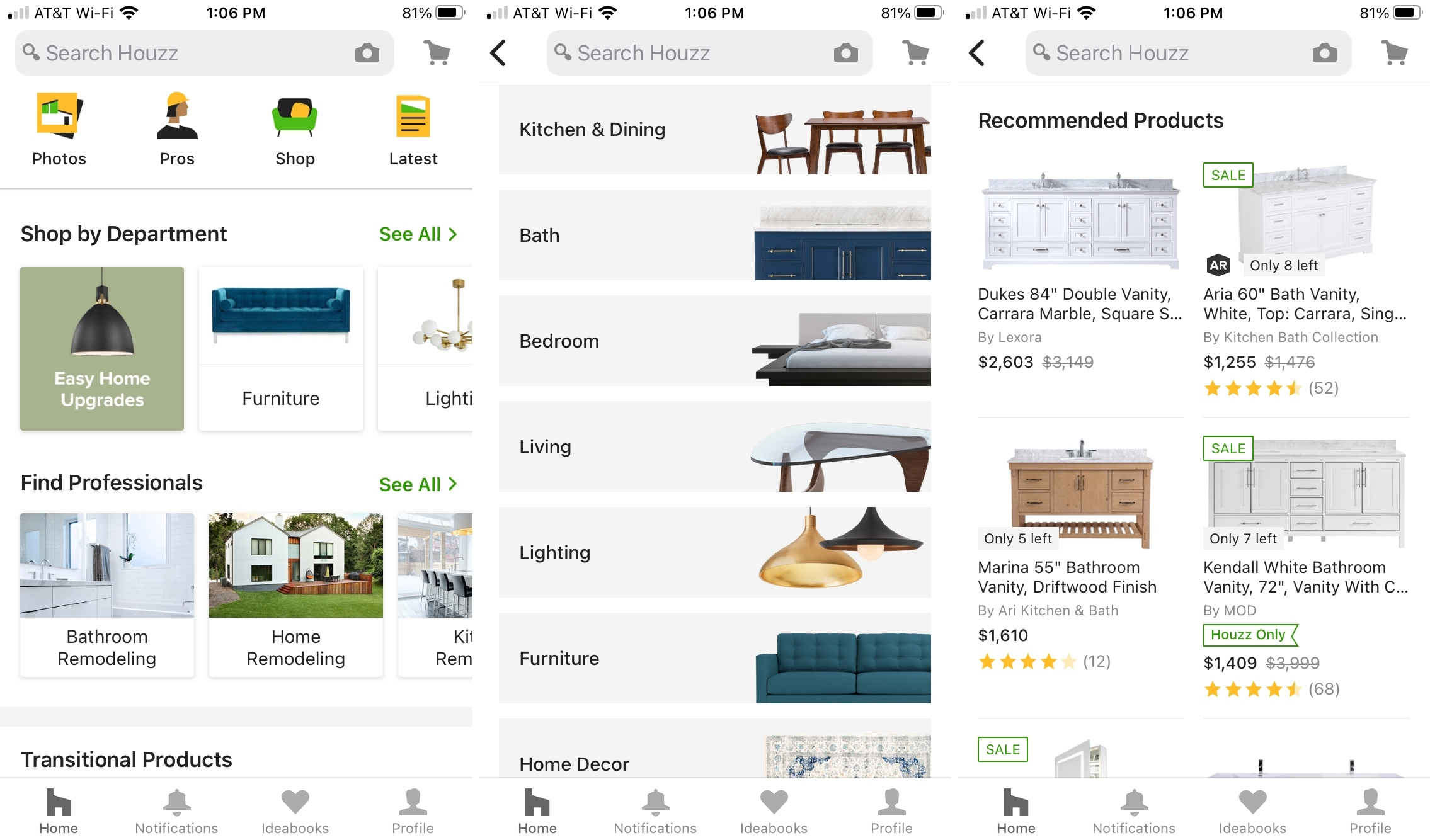 Houzz - Home Design & Remodel on iPhone