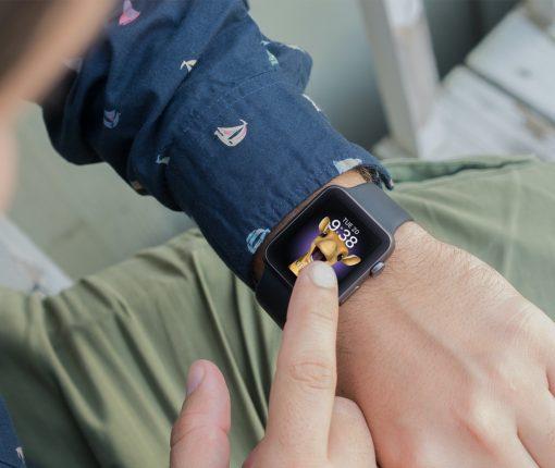 Memoji Apple Watch Face with Animoji