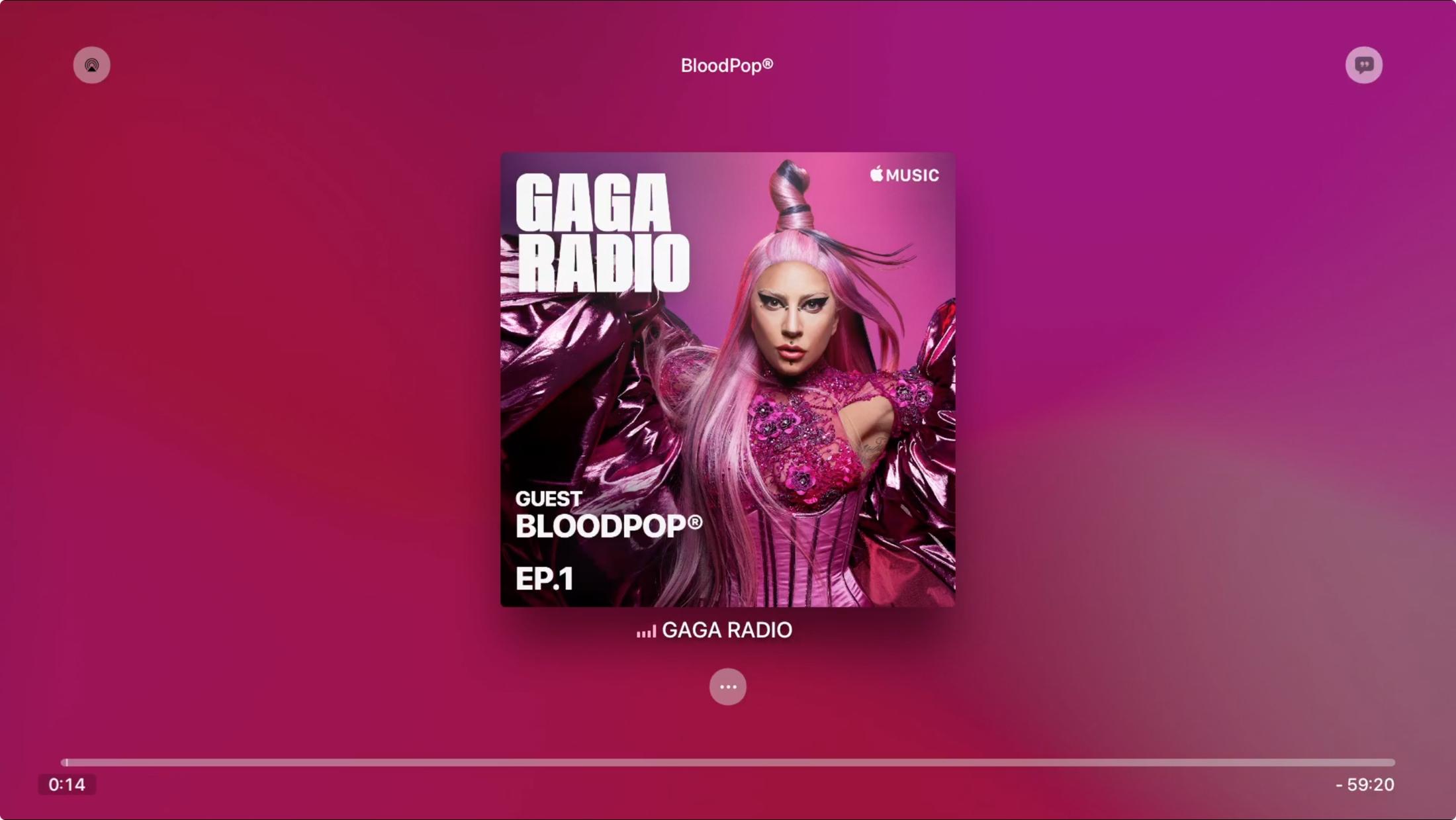 Radio Station in Music on Apple TV
