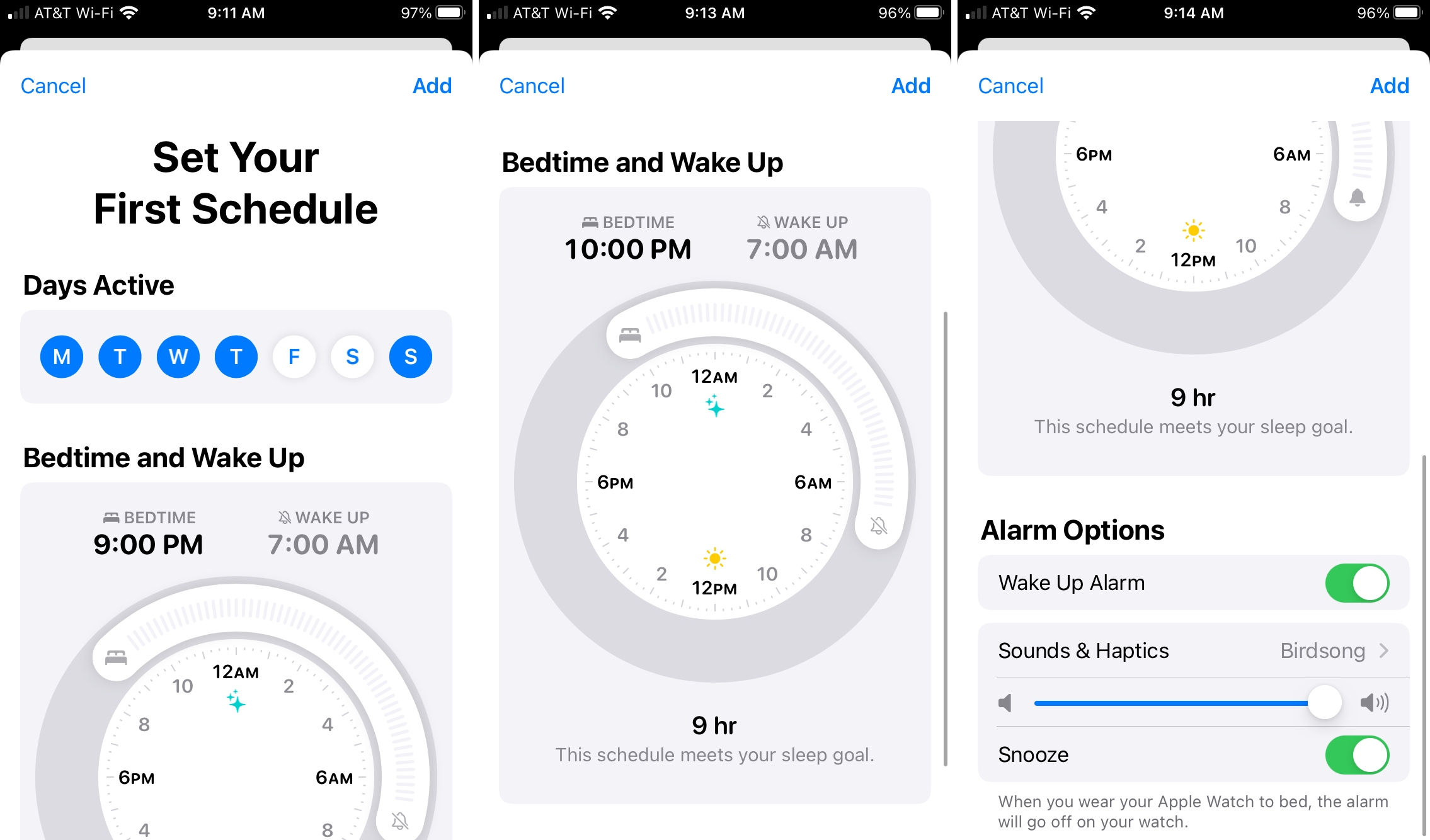 Set Your First Schedule for Sleep