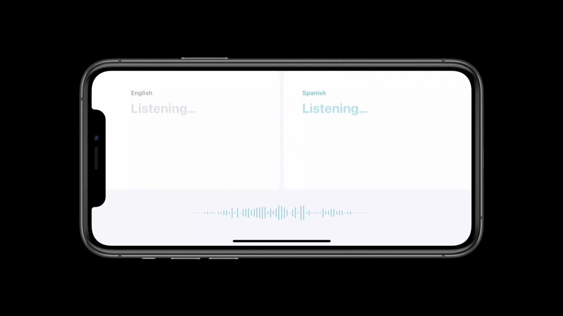 Apple Translate Conversation mode - automatic language detection