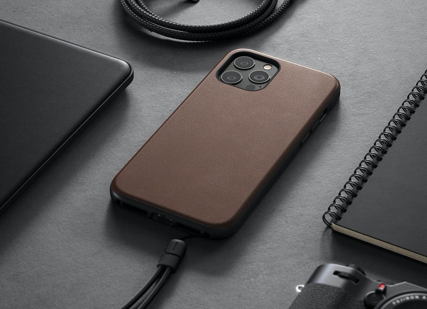 best cases for iPhone 12 Pro - leather case