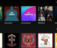 Amazon Music Top Stations and Albums