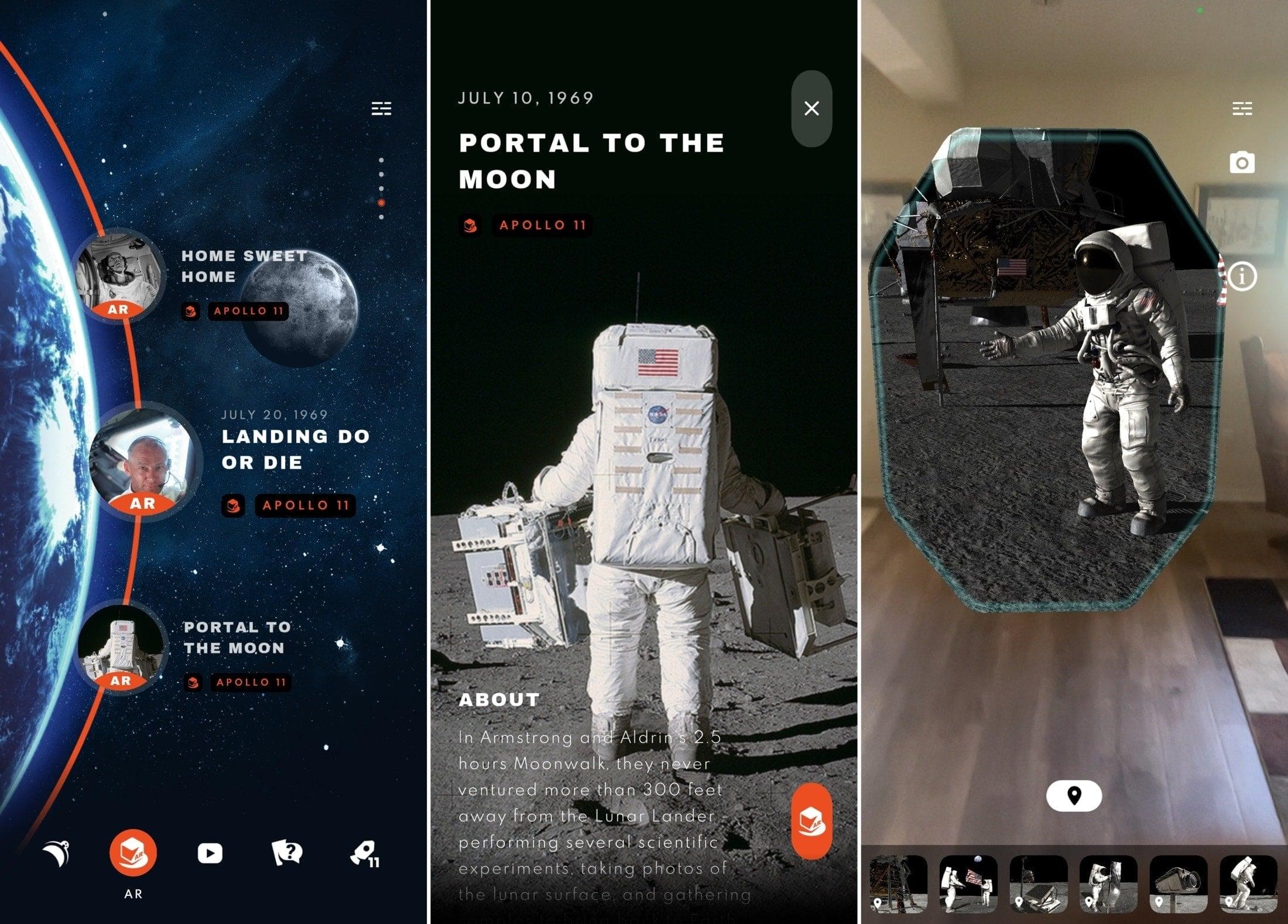 Apollos Moon Shot AR on iPhone