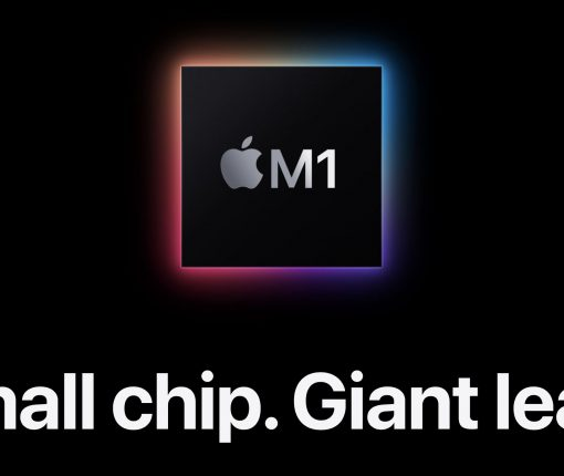 Apple M1 small chip giant leap website screenshot 001
